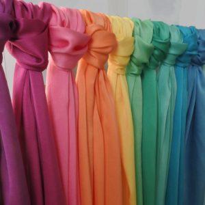 Color Healing Silks
